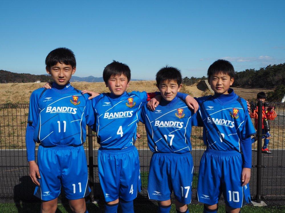 「第30回 関東選抜少年サッカー大会」福島県選抜メンバーにバンディッツいわきジュニア選手選出のお知らせ!